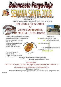 CARTEL CAMPUS SEMANA SANTA 2018-1